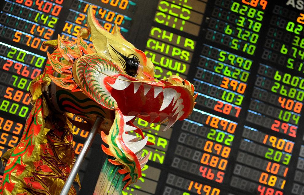 Стоимость фондового рынка КНР впервые превысила $10 трлн