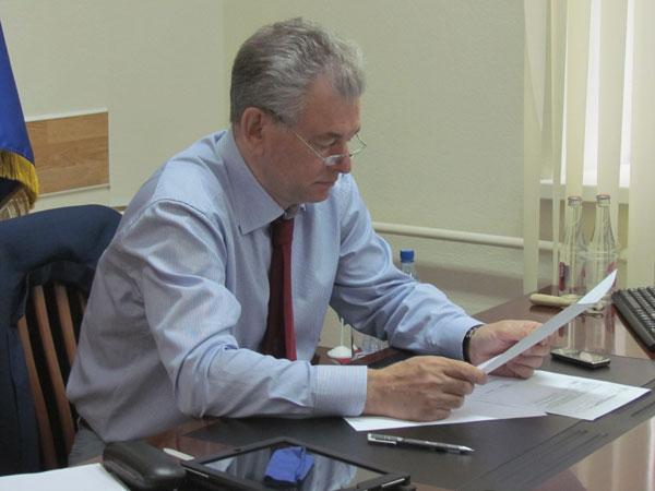Первый заместитель руководителя фракции «Единая Россия», президент общества «Знание» Николай Булаев.