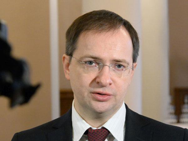 Министр культуры Российской Федерации Владимир Мединский.