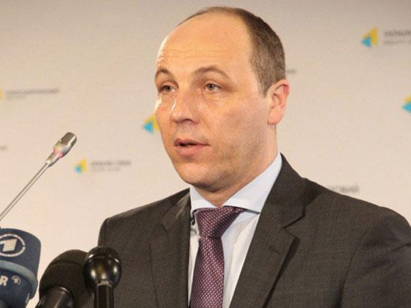 Вице-спикер Верховной рады Украины Андрей Парубий.