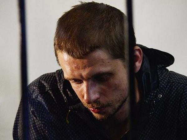 Подозреваемый в убийстве журналиста Олеся Бузины Андрей Медведько.