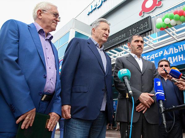 В Ингушетии открылся первый ледовый Дворец спорта