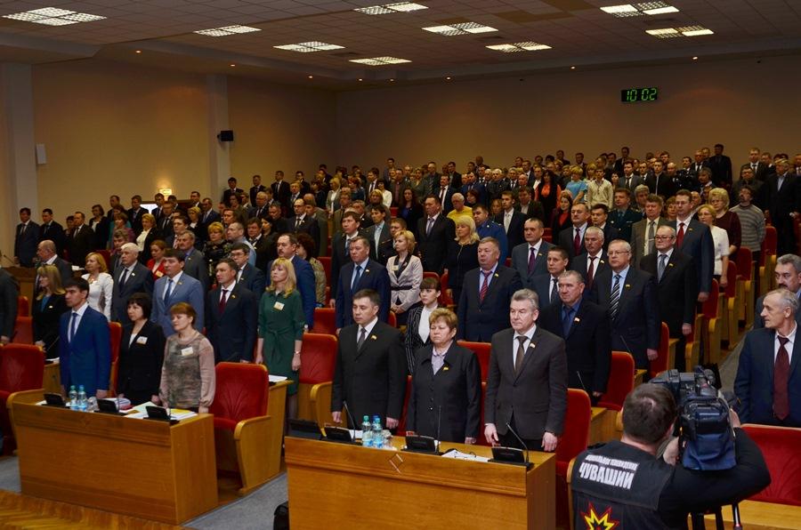 Чувашский парламент. Фото с сайта Госсовета