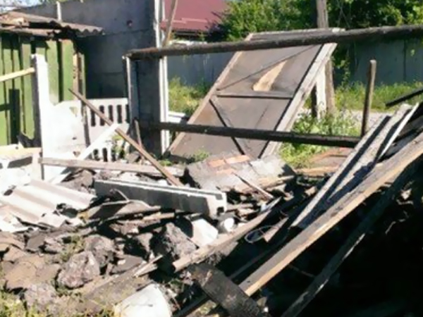 В ходе артобстрела Донецка ранены десять мирных жителей
