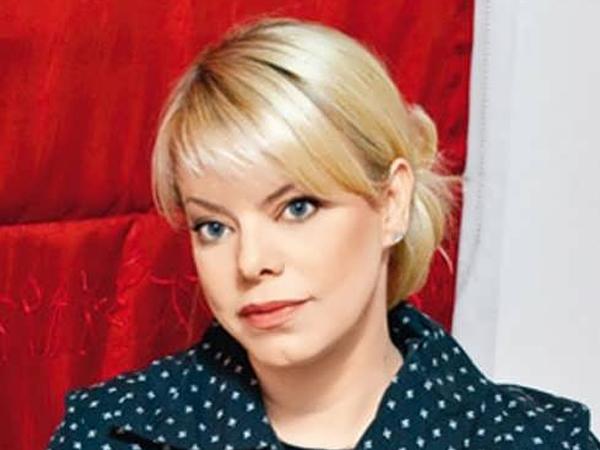 Актриса Яна Поплавская.