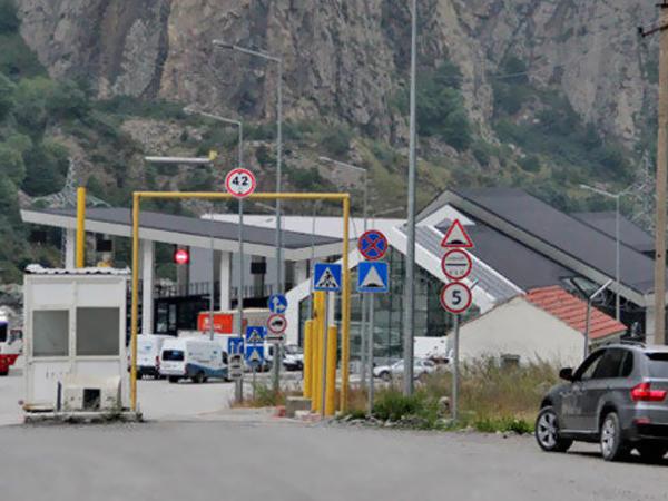Пограничный пункт пропуска «Верхний Ларс» перешел на дневной режим работы