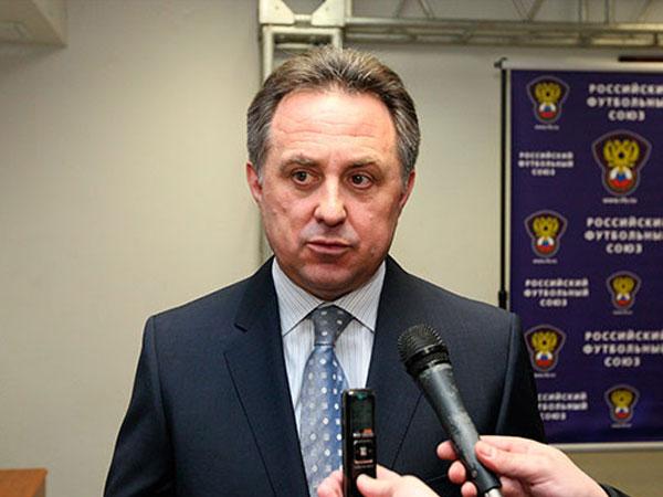 Министр спорта Виталий Мутко.