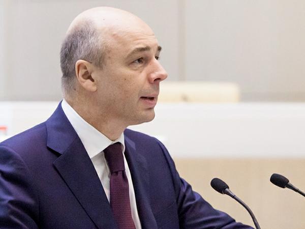 Глава Минфина Антон Силуанов.