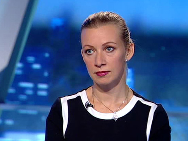 Замдиректора департамента информации и печати МИД РФ Мария Захарова. кадр: vesti.ru