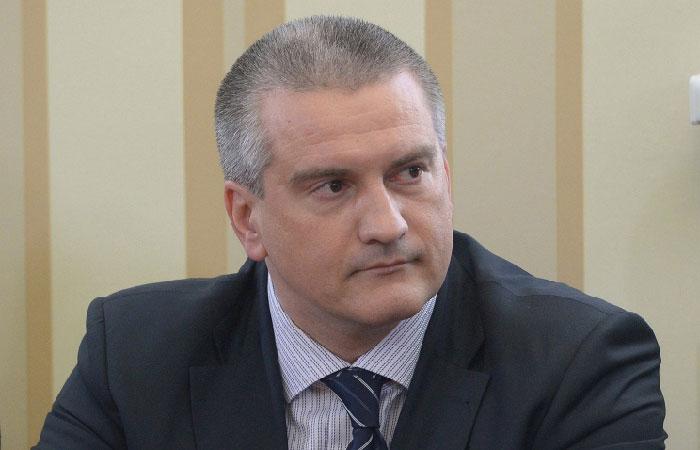 Сергей Аксёнов - глава республики Крым.