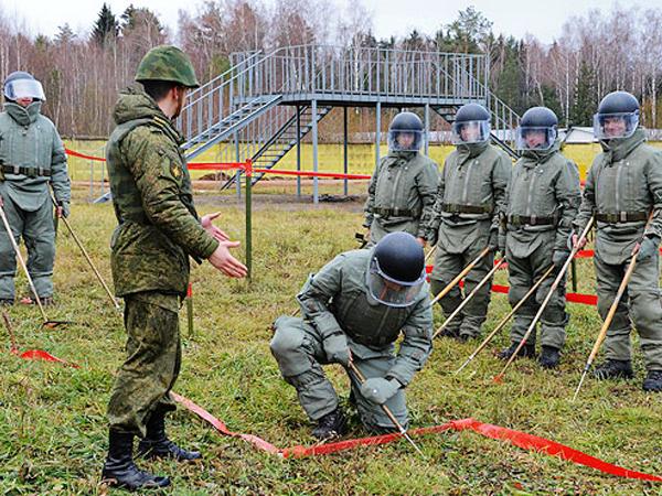 В инженерных войсках ВС РФ будут сформированы штурмовые подразделения