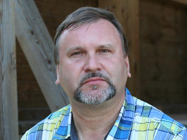 Заместитель генерального директора по археологическим исследованиям Сергей Трояновский.