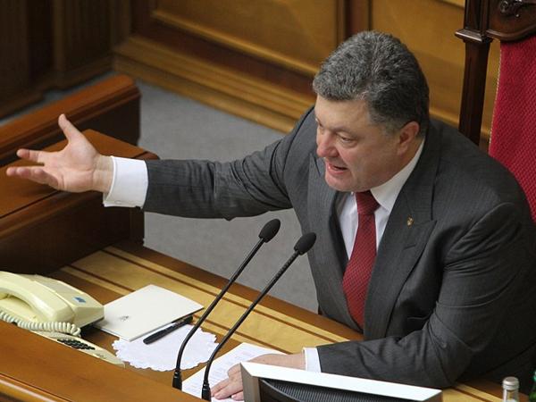 Порошенко: Евроинтеграция идет, несмотря на «старания и злобу» России