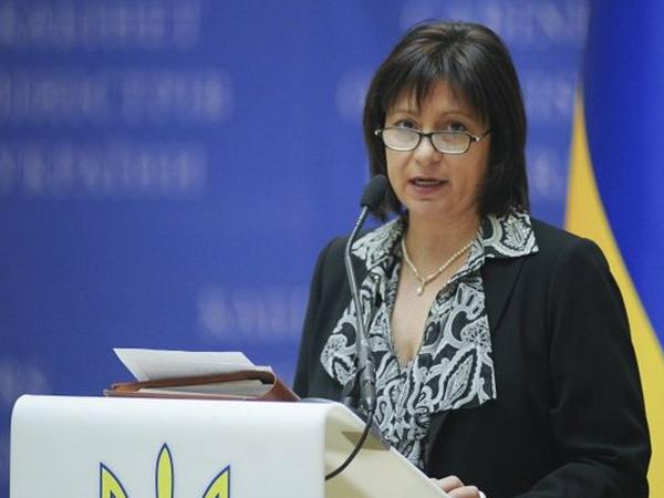 Министр финансов Украины Наталия Яресько.