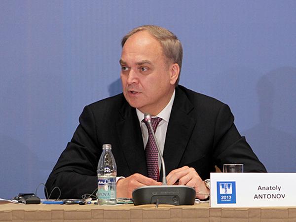 Заместитель министра обороны РФ Анатолий Антонов.