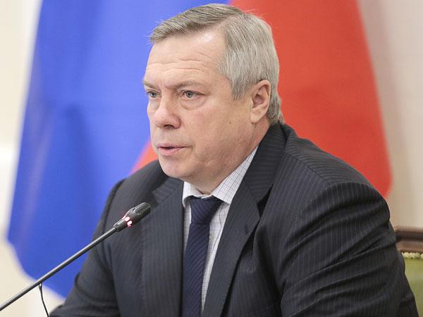 Dрио губернатора Ростовской области Василий Голубев.