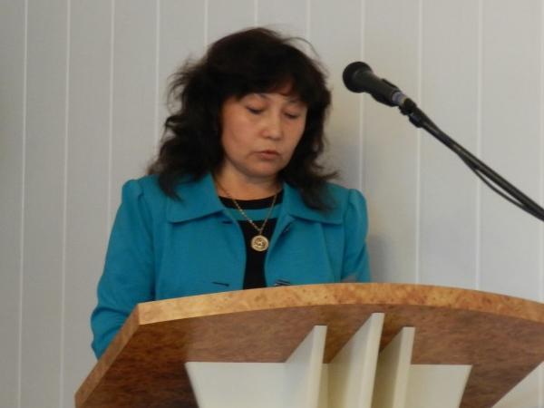 Заместитель главы администрации Аргаяшского района Альбина Шафигина.