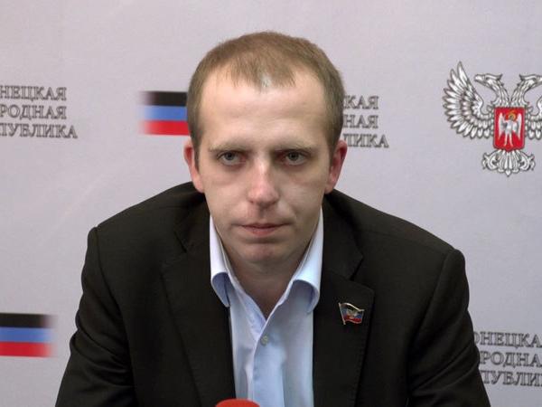 Министр транспорта ДНР Семен Кузьменко.