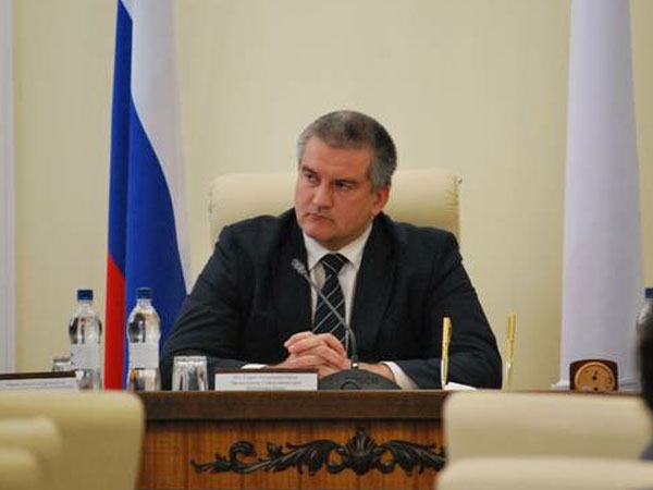 Председатель Совета министров Республики Крым Сергей Аксёнов.