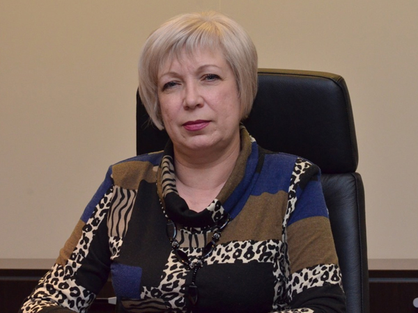 Заместитель министра финансов ДНР Оксана Таран.