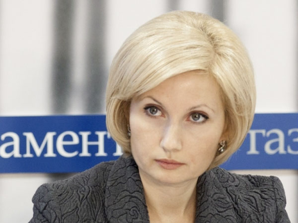 Глава комитета Госдумы по труду и соцполитике РФ Ольга Баталина.