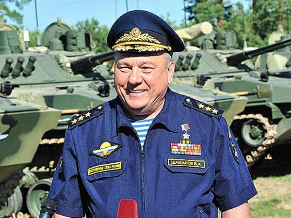 Командующий ВДВ России Владимир Шаманов.