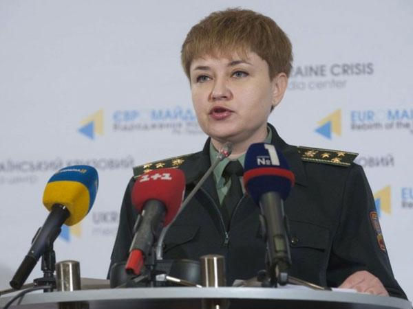 Спикер министерства обороны Украины Виктория Кушнир.