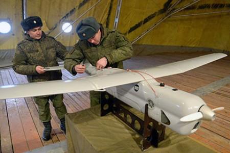 В небо над Чукоткой военные запускают беспилотных «Орланов»