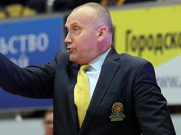 Главный тренер «Химок» Римас Куртинайтис.