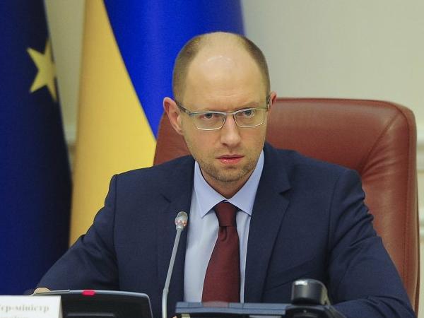 Премьер-министр Украины Арсений Яценюк. Иллюстрация: kmu.gov.ua
