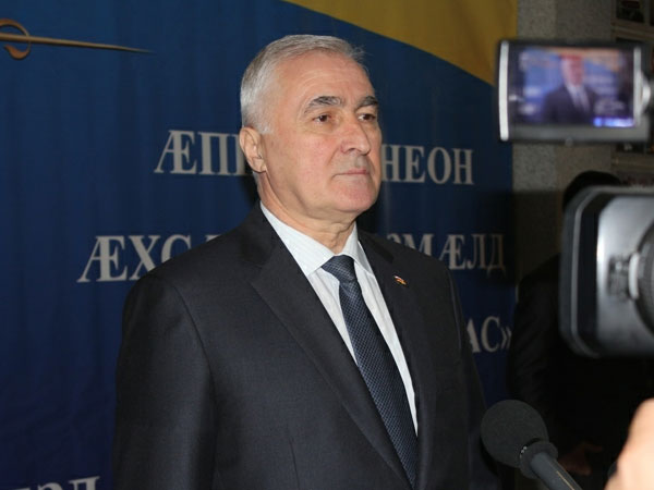 Президент Южной Осетии Леонид Тибилов.
