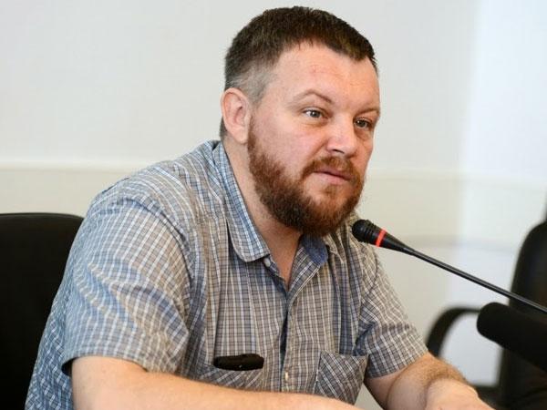 Председатель Народного совета самопровозглашенной Донецкой народной республики Андрей Пургин.