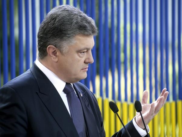 Порошенко: Миротворцы в Донбассе должны контролировать границу