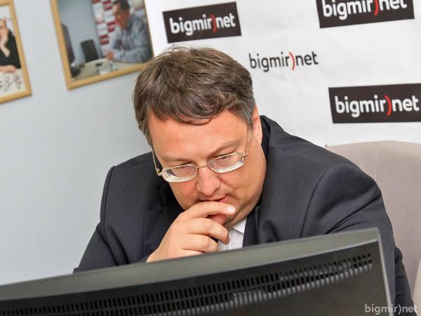 Народный депутат Украины от «Народного фронта» Антон Геращенко.