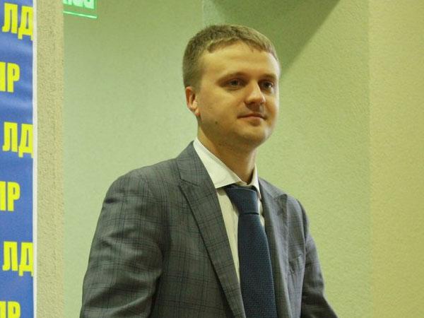 Первый замруководителя фракции ЛДПР в Госдуме РФ Алексей Диденко.