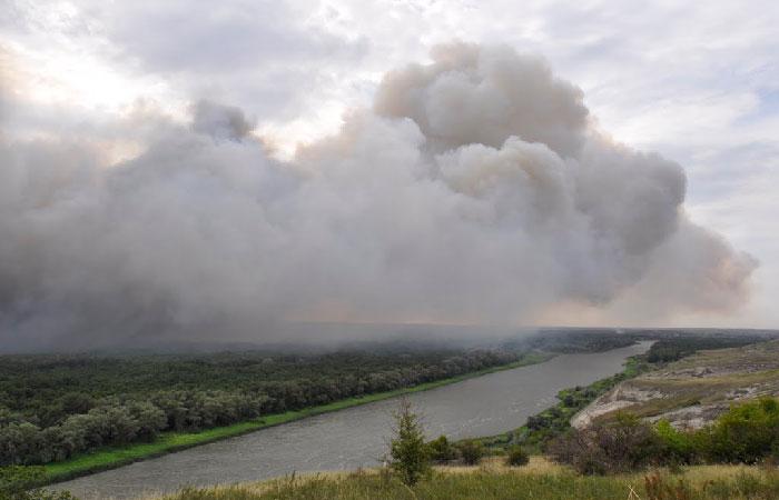 В Воронежской области установлен самый высокий класс пожарной опасности