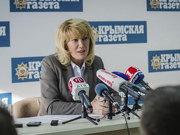 Министр курортов и туризма Республики Крым Елена Юрченко.