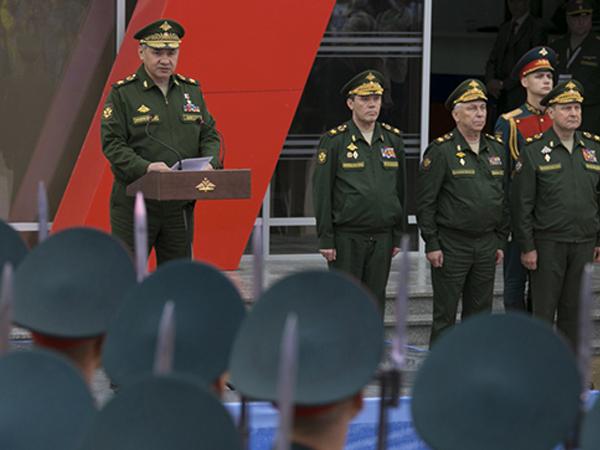 Министр обороны генерал армии Сергей Шойгу.