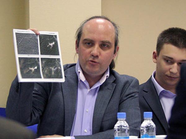 Руководитель региональной группы центра мониторинга по проблемам экологии и защиты леса в Московской области Антон Хлынов.