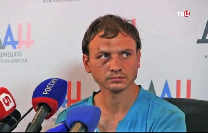 Роман Марченко - боец ВСУ.