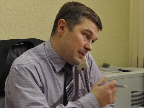 И.о.председателя избирательной комиссии Архангельской области Андрей Контиевский.