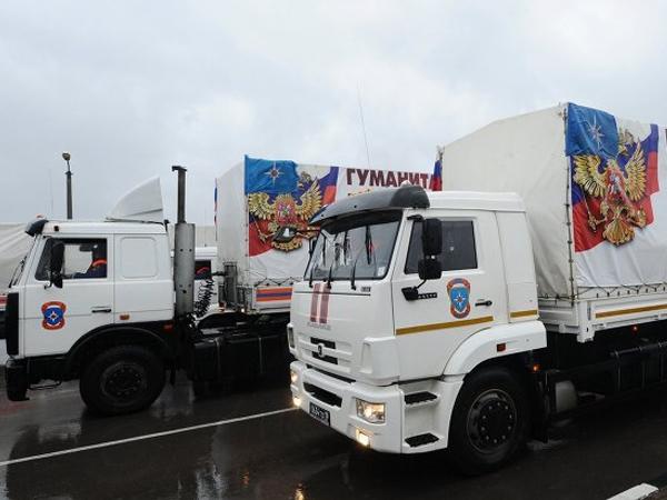 Гуманитарный конвой МЧС РФ для Донбасса прибыл на госграницу