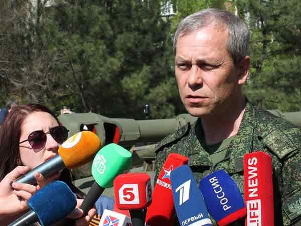 Замкомандующего корпусом Минобороны ДНР Эдуард Басурин.
