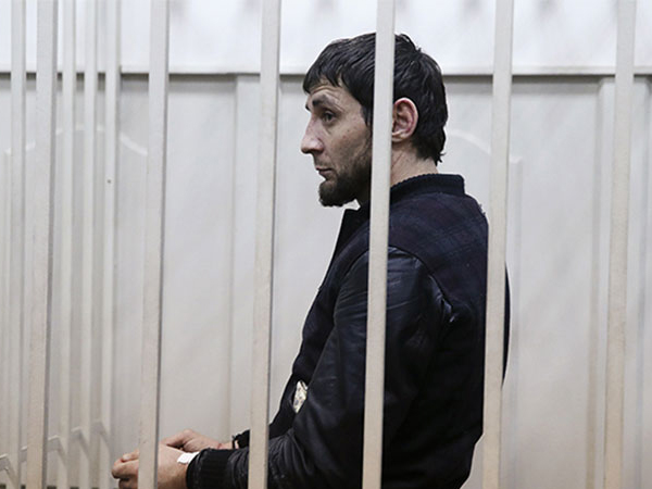 Подозреваемый в убийстве политика Бориса Немцова Заур Дадаев.