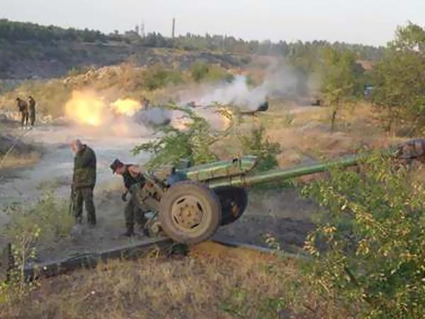 ВСУ три раза обстреляли территорию ЛНР