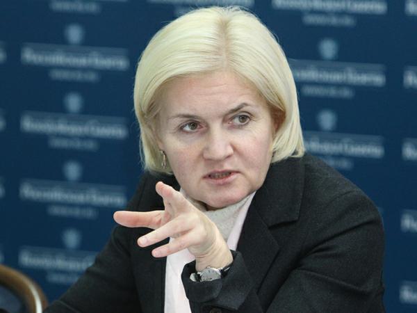 Заместитель председателя правительства РФ Ольга Голодец.