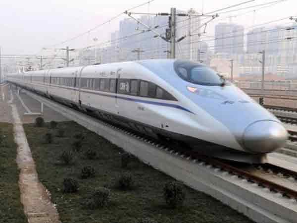 Китайская скоростная железная дорога.