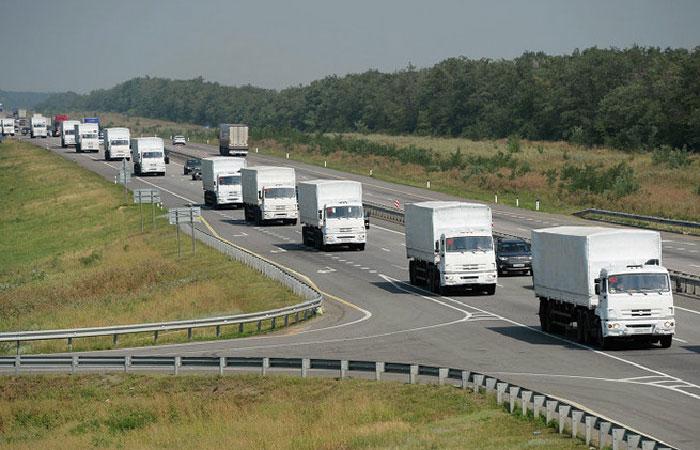 Очередная колонна с гуманитарной помощью из России отправится в Донбасс