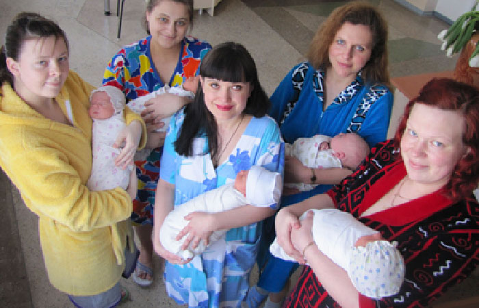 Ставропольские мамы.