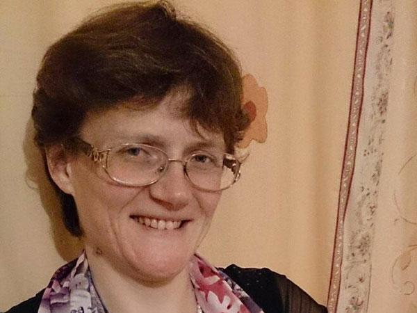 Жительница Вязьмы Светлана Давыдова.